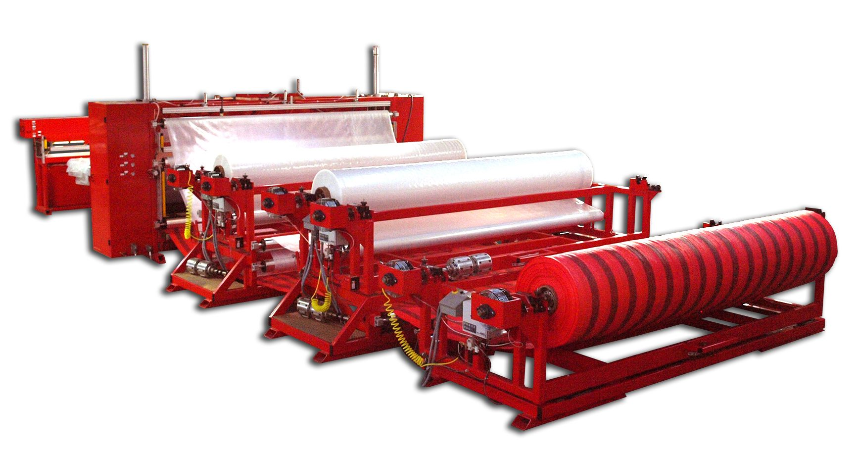 "150"" Custom Bag Sealing and Sheeting Machine"